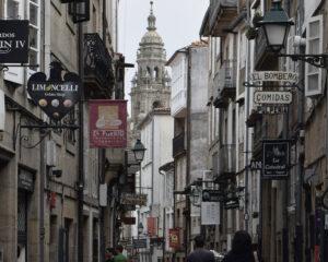 Street in Santiago de Compostela